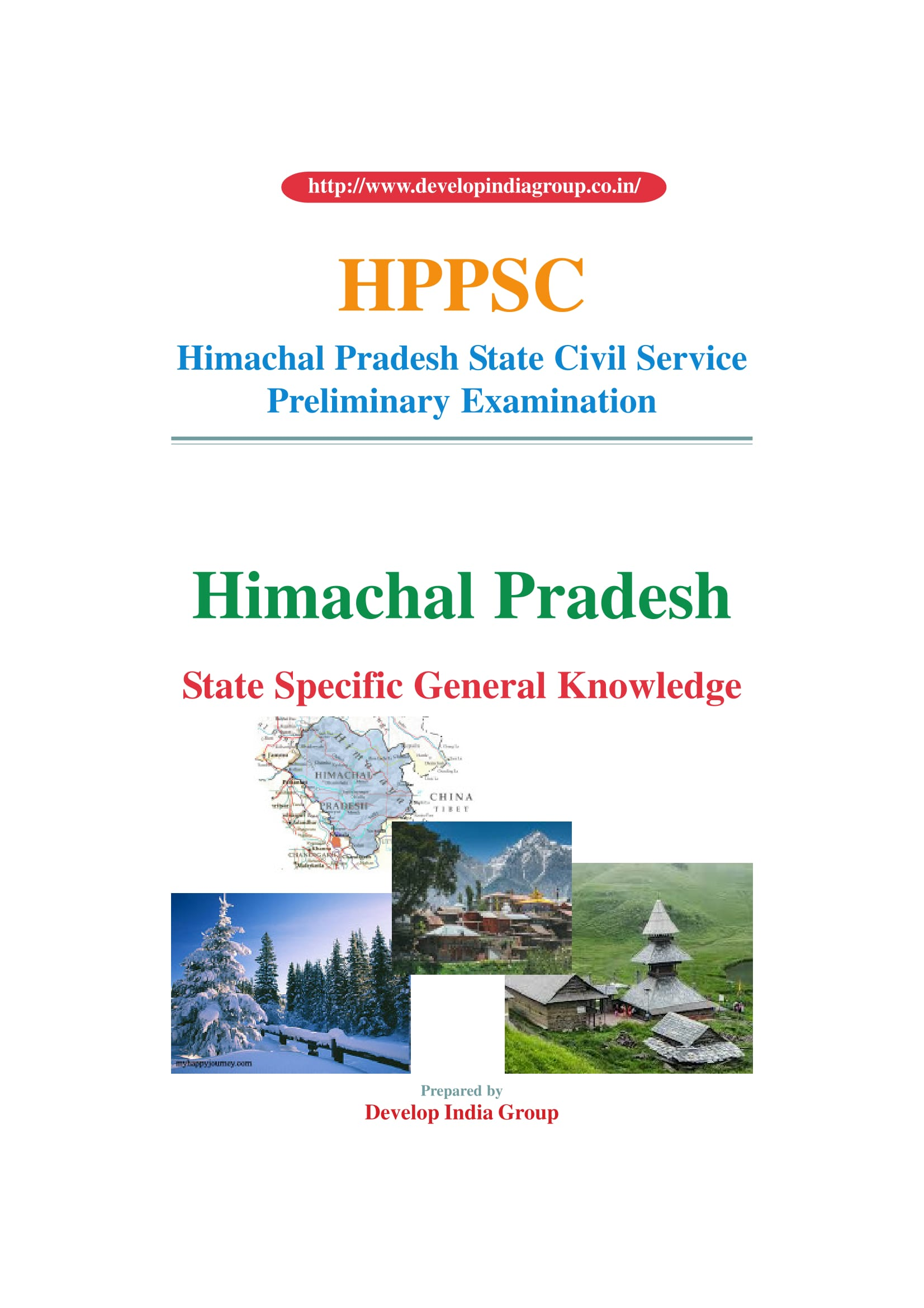 HPPSC_Prelims_Himchal_State_GK_English