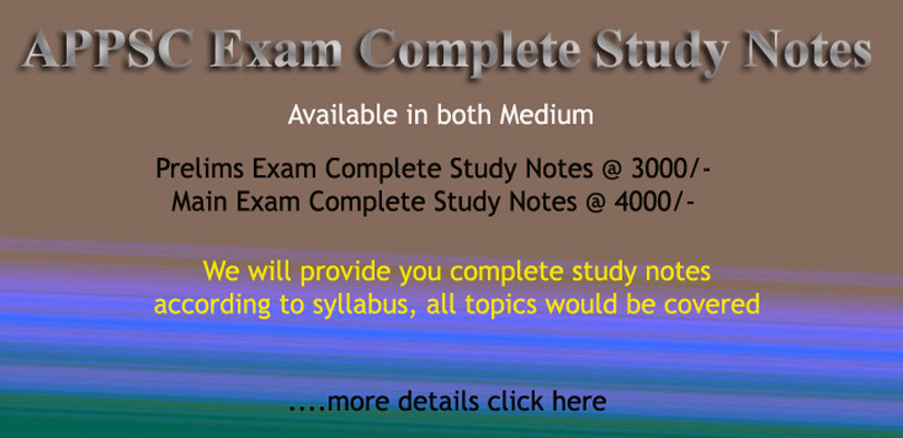 APSC Complete Study Notes 2019